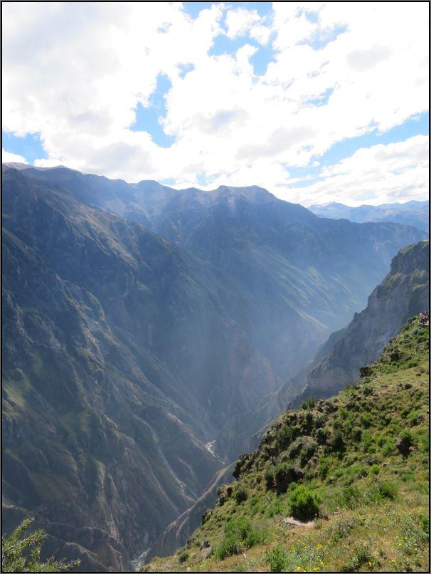 Colca Canyon, Mirador Cruz del Condor