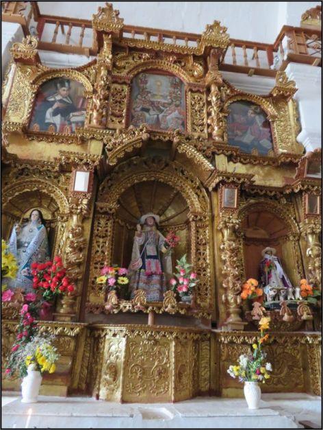 Colca Canyon - Maca, Iglesia Santa Ana