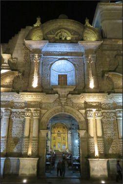 Arequipa, Iglesia de la Compania de Jesus, Facade