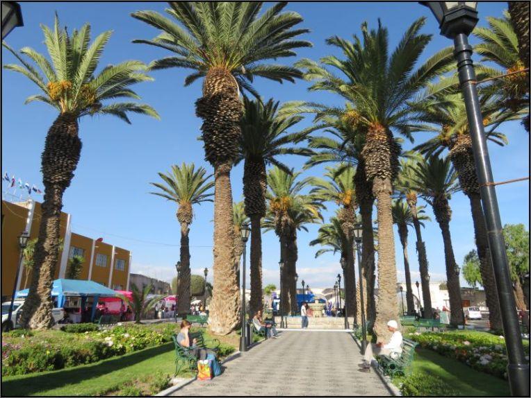 Arequipa, Plaza Yanahuara