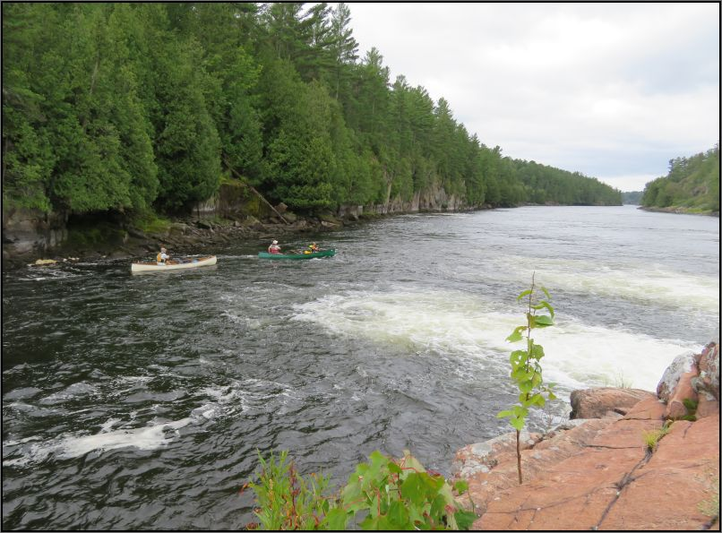 Continuing the journey on French River