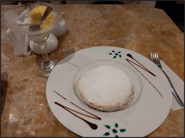 Aguas Caliente dessert