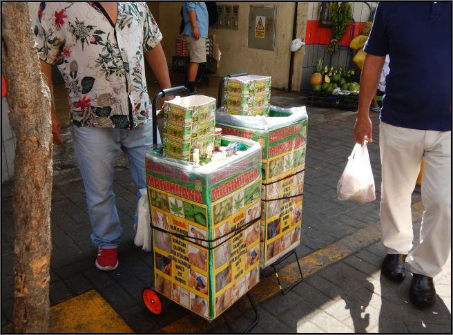 Goodies cart, Lima