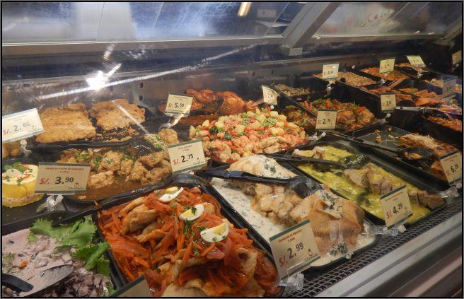 Market menus Lima