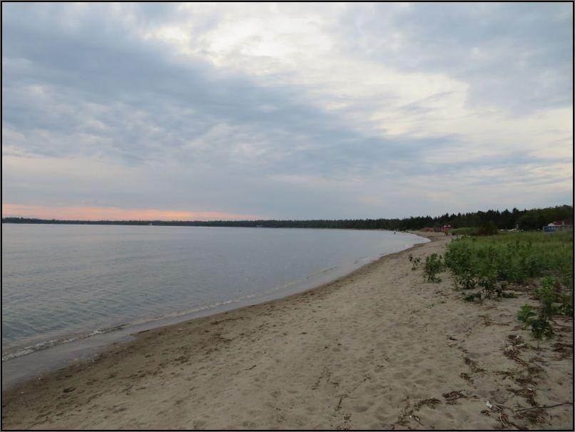 Providence Bay sandy beach