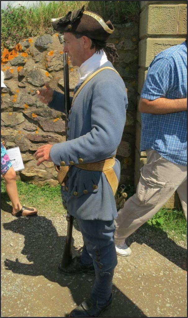 Louisbourg Fortress - A vigilent guard