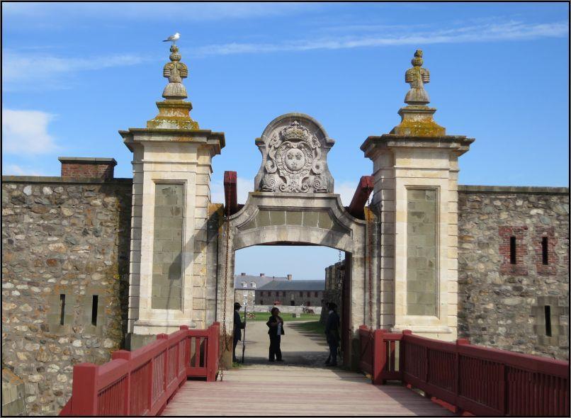 Louisbourg Fortress - Dauphin Gate