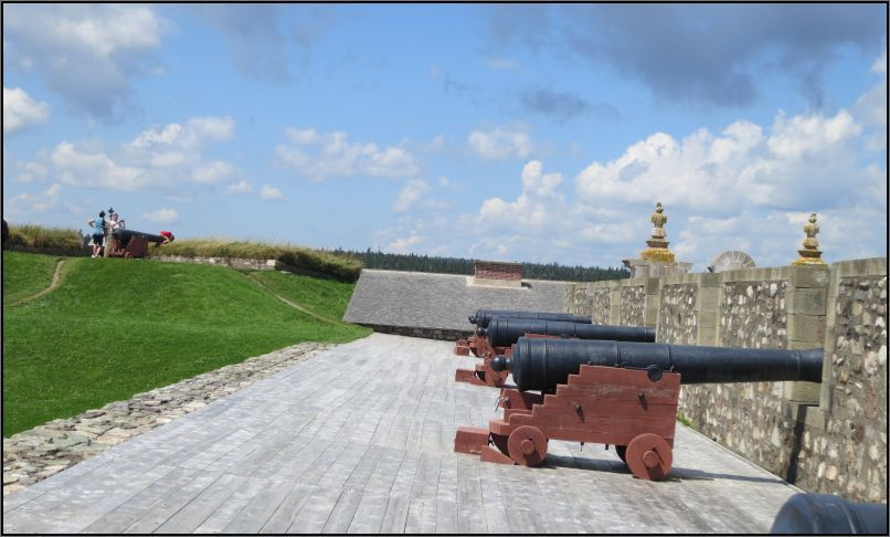 Louisbourg fortress Dauphin demi bastion