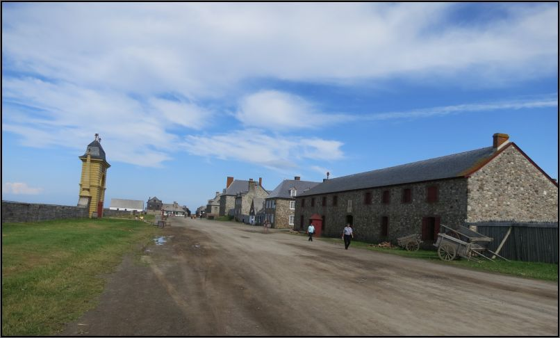 Louisbourg fortress Kings storehouse