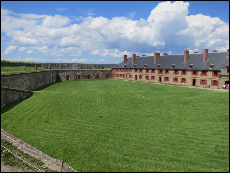Louisbourg fortress - The King bastion