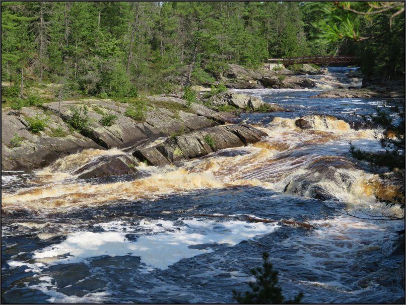 Aux Sables river, Chutes Provincial Park