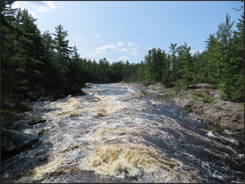 Aux Sables rapids, Chutes Provincial Park
