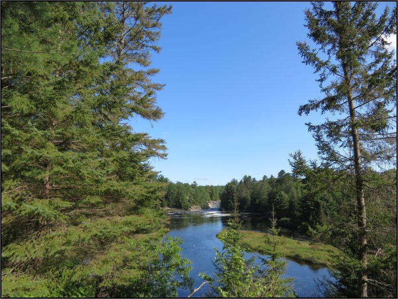 Seven Sisters Rapids on the river Aux Sables, Chutes Provincial Park