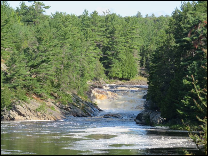 Seven Sisters Rapids, River Aux Sables, Chutes Provincial Park