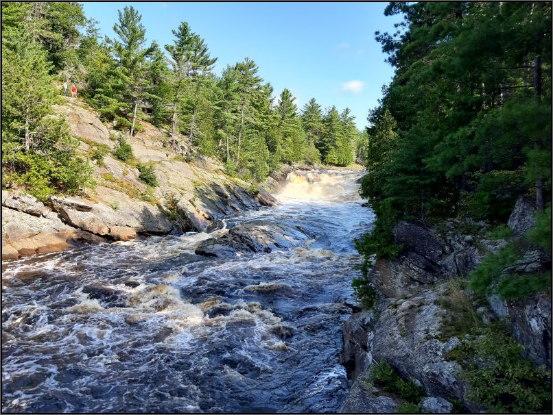 Seven Sisters Rapids, River Aux Sables - Chutes Provincial Park